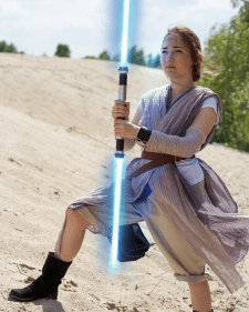 Обработка фото в стиле Star Wars