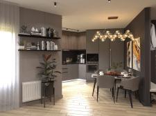 Дизайн-проект квартиры г. Нур-Султан