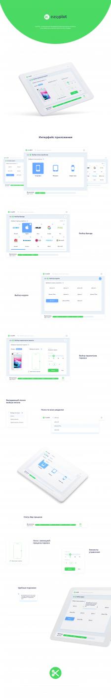 Дизайн интерфейса для EasyPlot