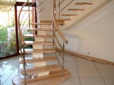 Лестница однокоурная