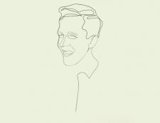 Портрет одной линией