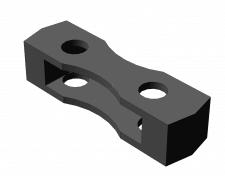 Модель молотка дробилки