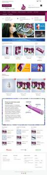 Сайт-каталог торговой марки электронных сигарет