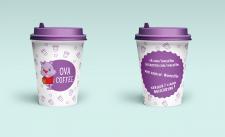 «OVA COFFEE» макет стаканчиков-2