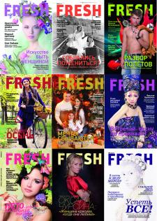 """Верстка и дизайн журнала """"FRESH look"""""""