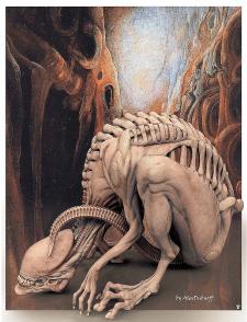 Alien biomorph