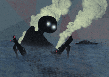 безликий в море