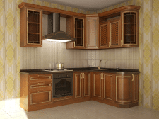 проект классической кухни Александра