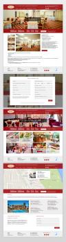 Сайт для отеля VISAK (остальные страницы)
