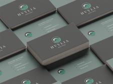 """Визитка для личного бренда  """"HVYLIA"""""""