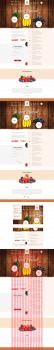 Промо сайт: Продажа овощей и фруктов