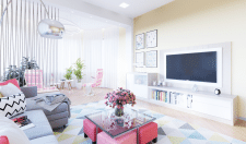 Дизайн проект квартиры 150 кв. м.