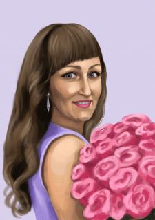 портрет для Ольги