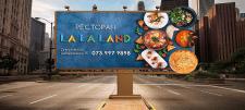 Дизайн наружной рекламы Lalaland
