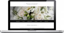 Разработка сайта цветочного оформления