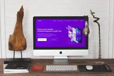 Презентация дизайна сайта для приложения APPIYA