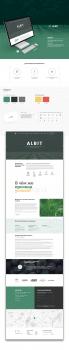 Landing page - продукт для удобрения Albit