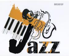 Логотип для джазовой студии