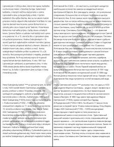 Переклад зі словацької на російську мову: брошура