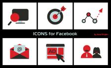 Иконки для Facebook