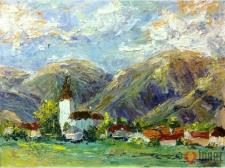 Словацкая деревушка