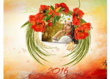 Настенный перекидной календарь