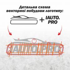 Варіант лого магазину запчастин (Схема побудови)