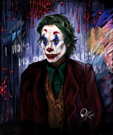 Джокер. Цифровой портрет