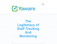 The Legitimacy of Staff Tracking and Monitoring