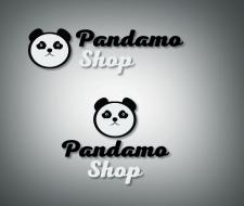 """Дизайн логотипа магазина одежды """"Pandamo shop"""""""