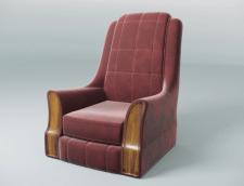 "Arm Chair ""Wooden Parker"""