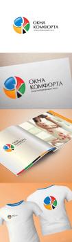 Окна комфорта | логотип и фирмстиль