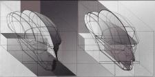 аксонометрия головы