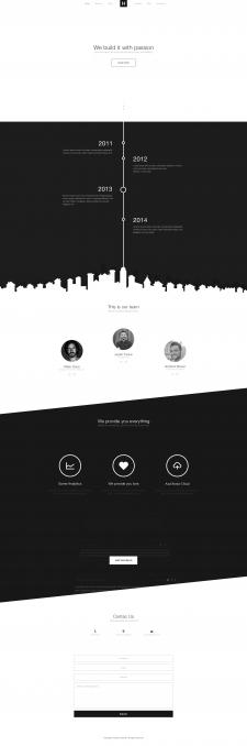 H - Website development