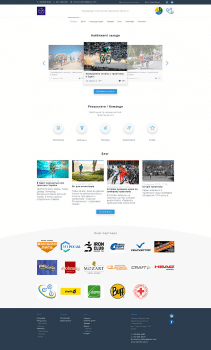 """Разработка дизайна Landing Page для """"Триатлон"""""""