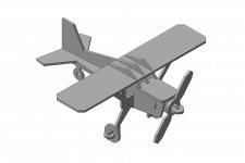 Модель самолетика. Сувенир