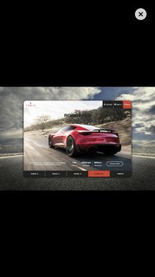 Tesla ⎮Concept page ⎮BM Design