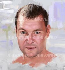 Цифровой портрет (масло)