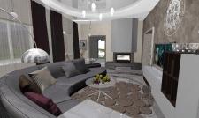 Гостиная (поиск концептуального решения)