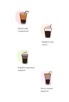 Иконки для сайта кофейни