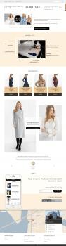 Магазин дизайнерской одежды на OpenCart