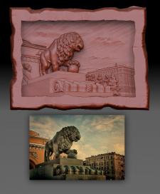 3D моледь по фото для сувенирки ПИТЕР