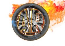 Логотип для шиномонтажной или автотоварной фирмы