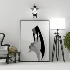 Black & White art.