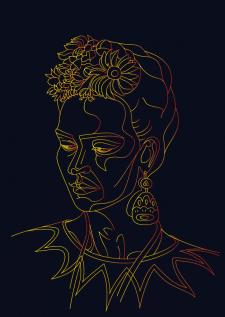 Фрида Кало. Иллюстрация