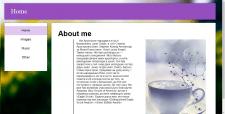 Персональний сайт для проекту.