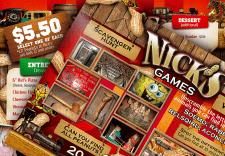 Дизайн настольной игры для сети пиццерий
