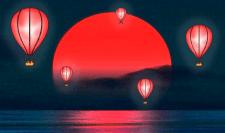 Создание иллюстрации воздушных шаров