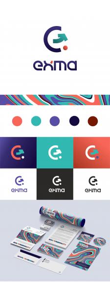 Логотип и фирменный стиль для web-компании