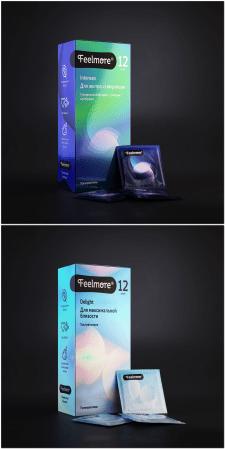 Визуализация упаковки презервативов